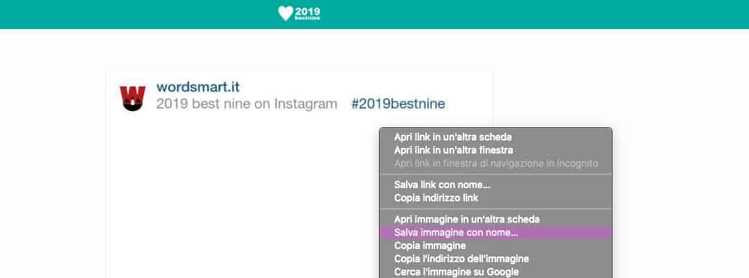 come fare i ricordi su Instagram download Best Nine