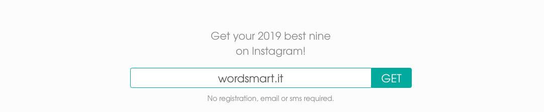 come fare i ricordi su Instagram sito web Best Nine