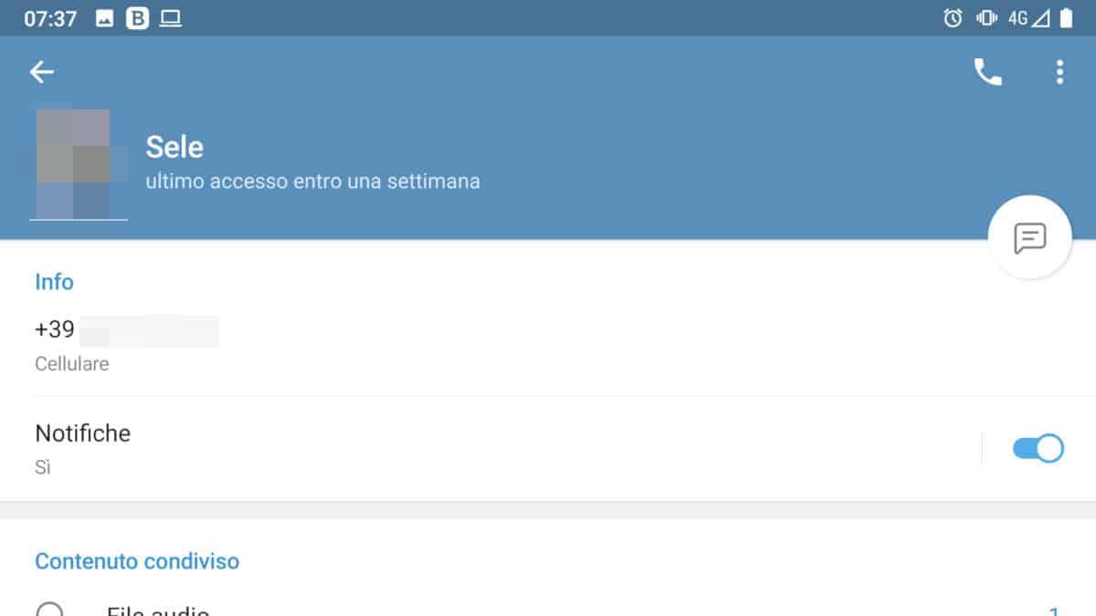 ultimo accesso di recente su Telegram altre tempistiche esempio entro una settimana