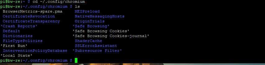 come recuperare la cronologia cancellata da Chrome distro Debian