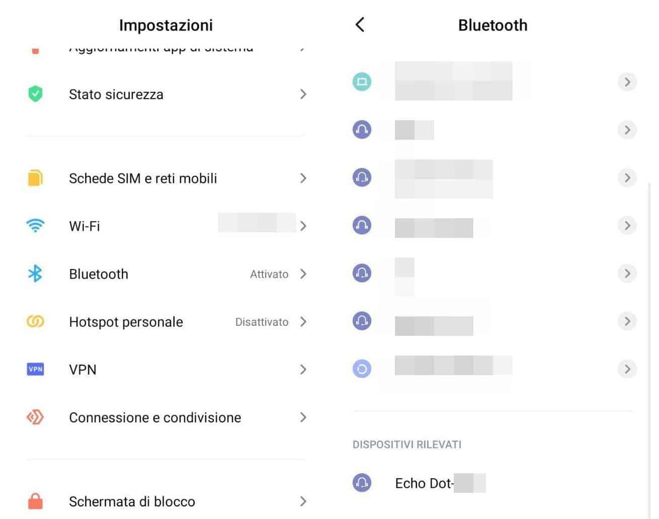 come usare Alexa come cassa Bluetooth Android