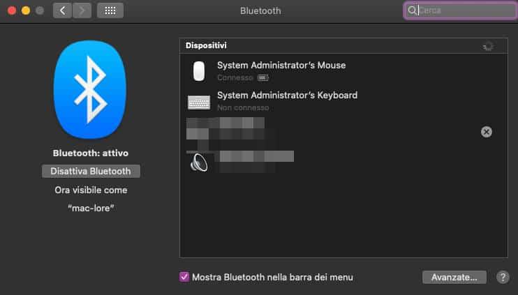 come usare Alexa come cassa Bluetooth macOS
