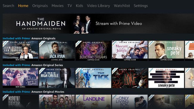 come vedere Amazon Prime Video console