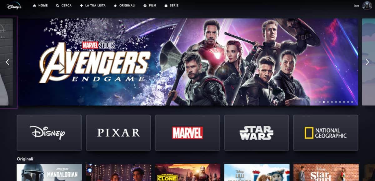 come avere Disney plus visione da Web