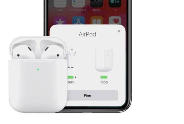 come collegare le AirPods a iOS