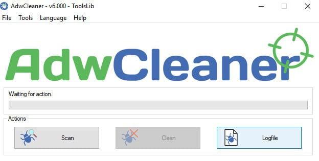 come eliminare Congratulazioni hai vinto AdwCleaner