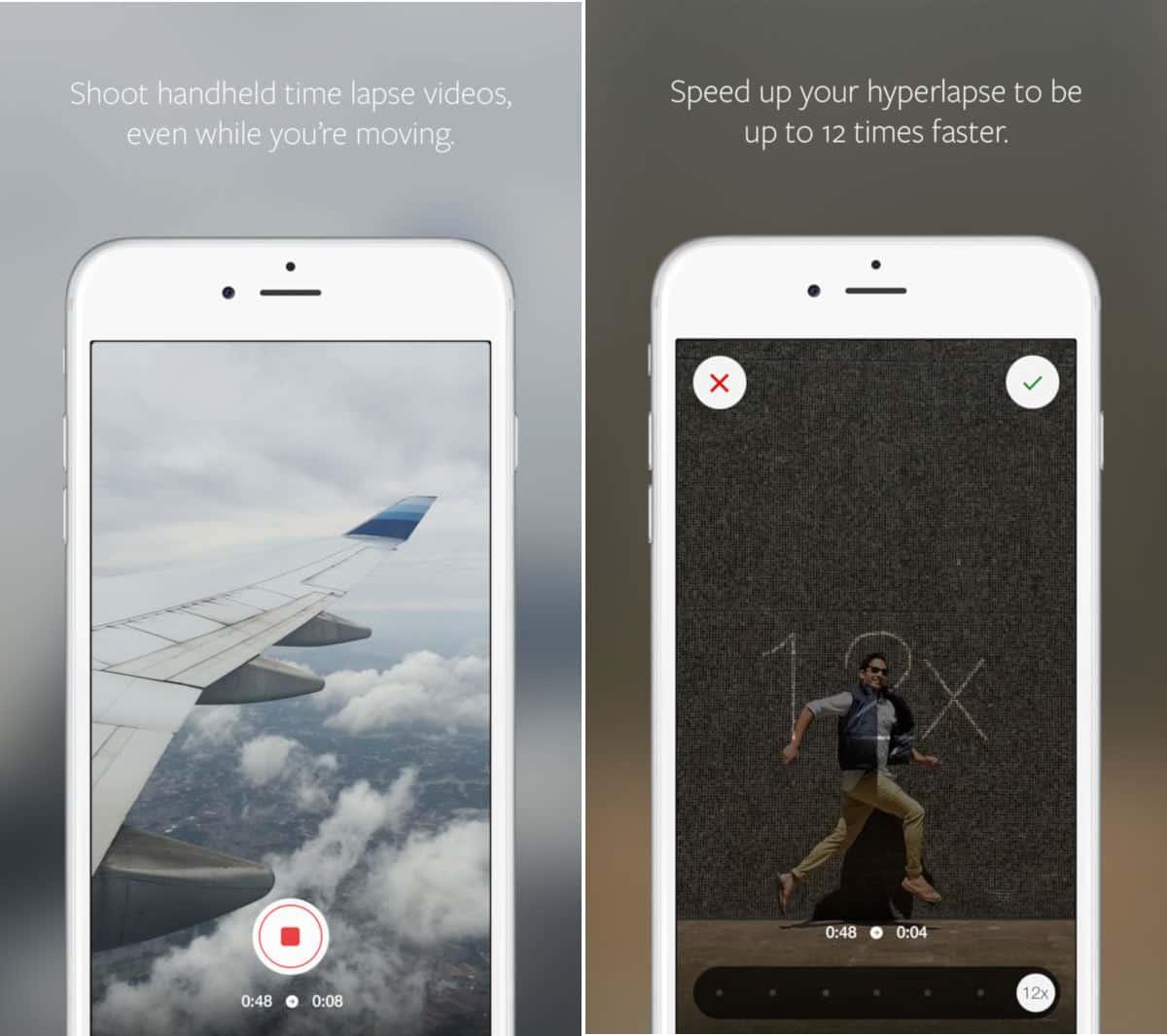 come fare i video velocizzati su Instagram app IG Hyperlapse