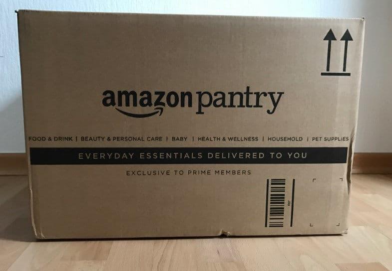 come fare la spesa su Amazon pacco Pantry