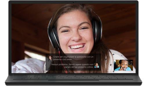 come fare una videoconferenza servizio Skype Translator