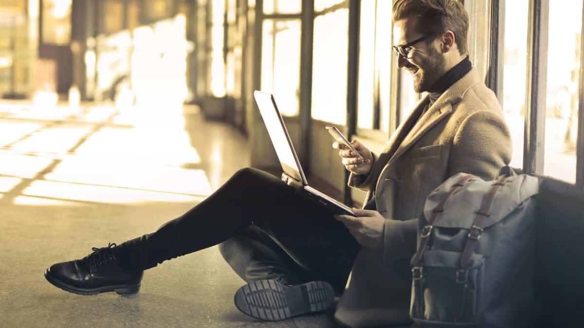 come lavorare da casa concetto di smart working