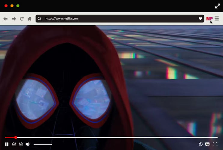 come usare Netflix Party visualizzazione film