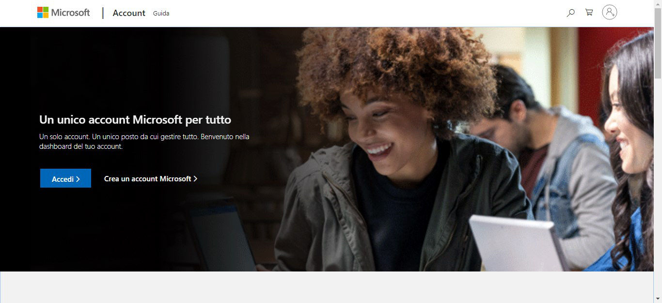 come usare Skype creazione account Microsoft
