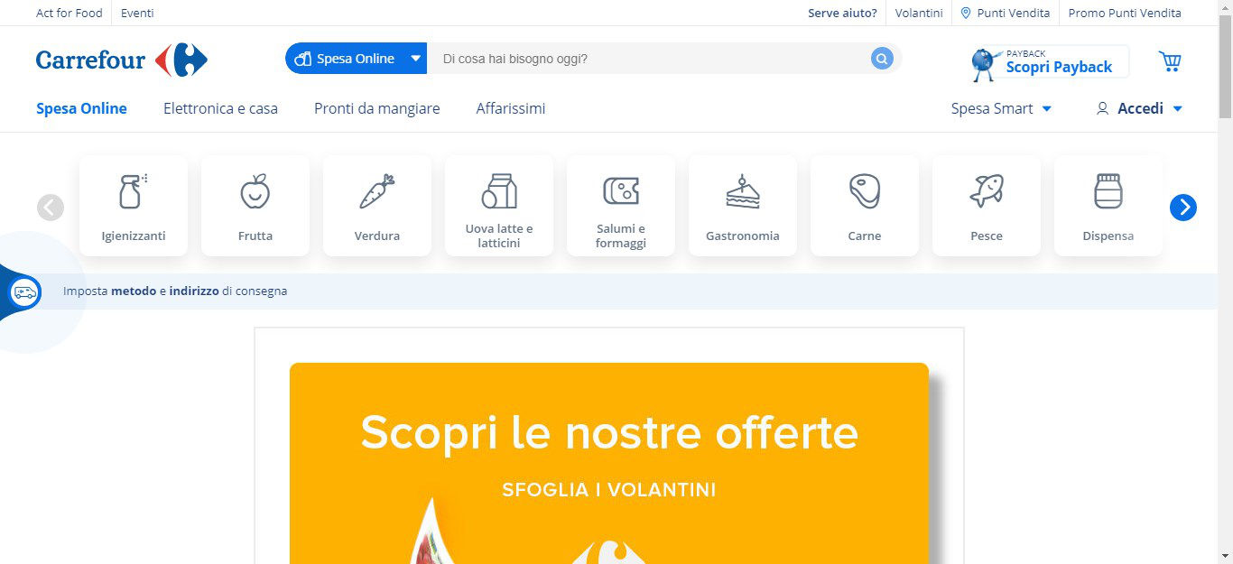spesa online Carrefour