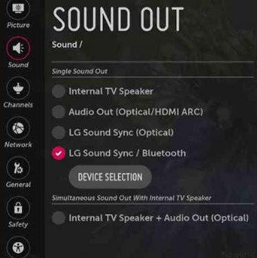 come collegare le cuffie Bluetooth alla smart TV