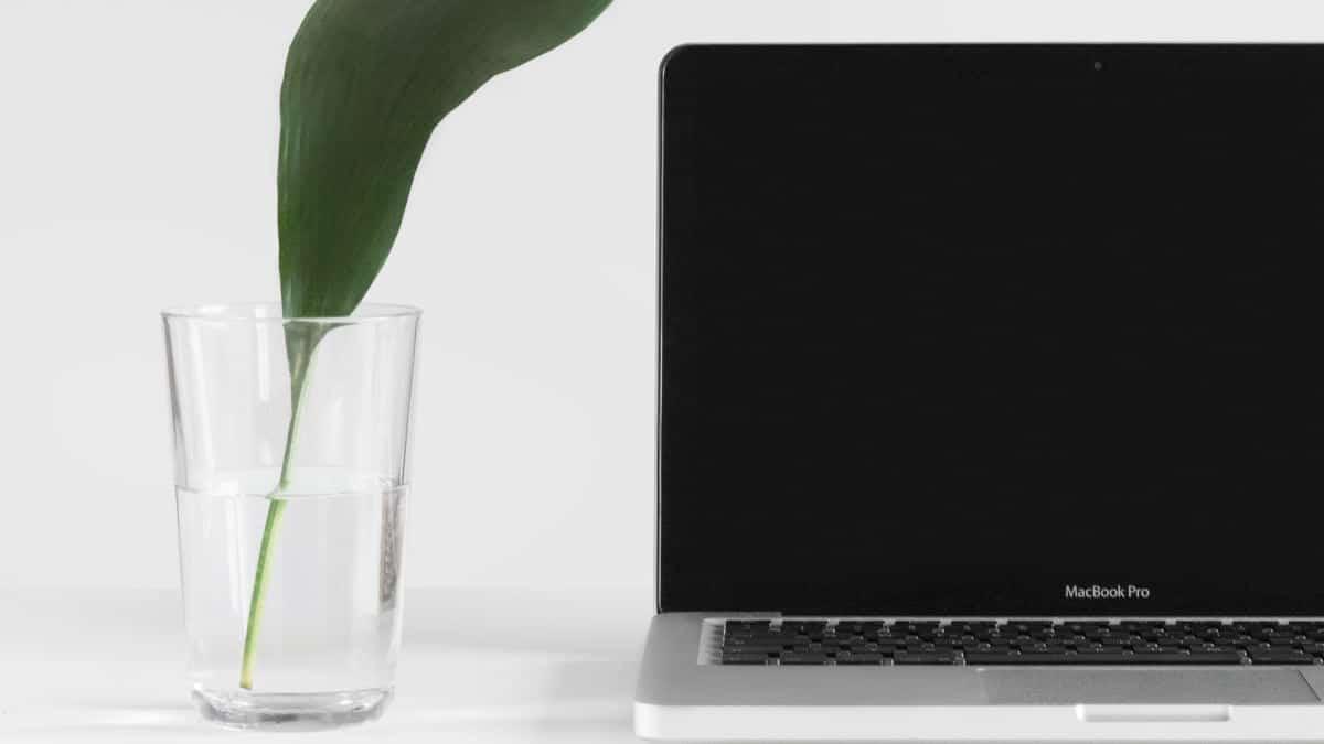 come disinfettare un Mac concetto di ambiente pulito