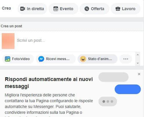 come fare una diretta Facebook Pagina