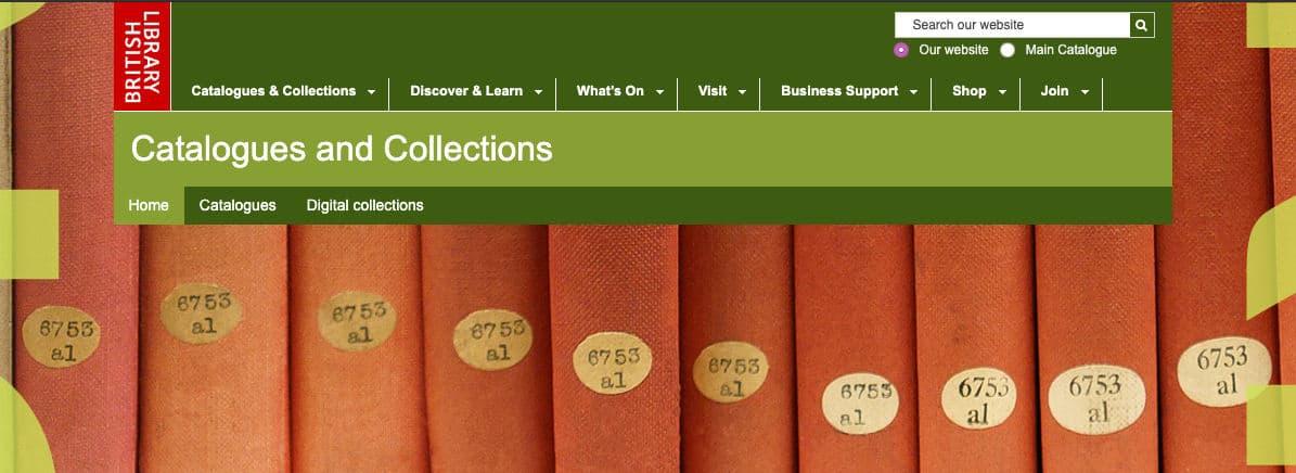 come leggere libri online British Library