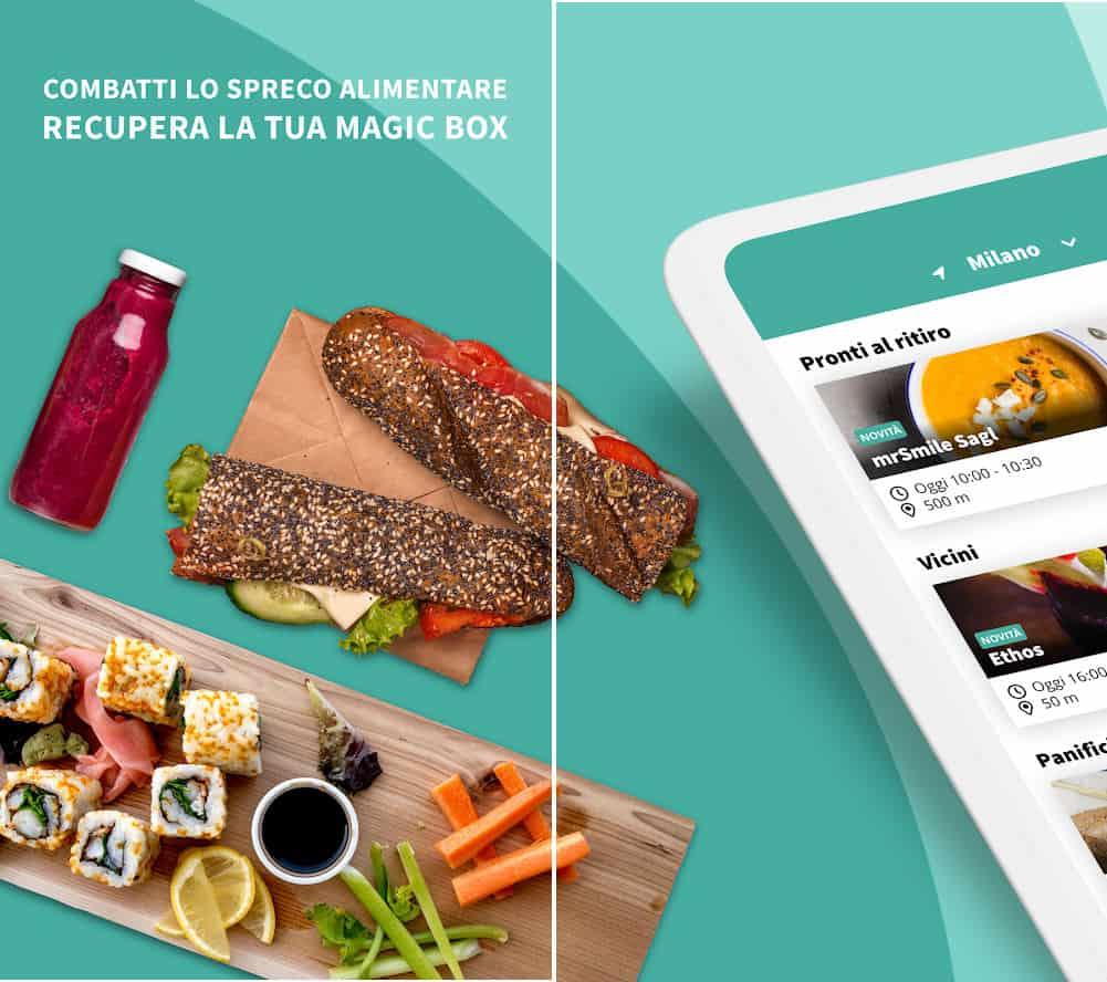 come ordinare cibo online app Too Good to Go