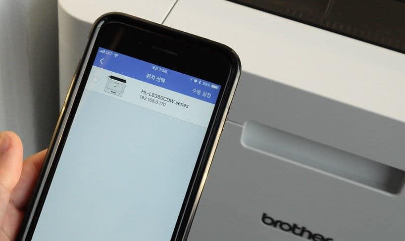 come stampare da Android esempio Wi-Fi diretto