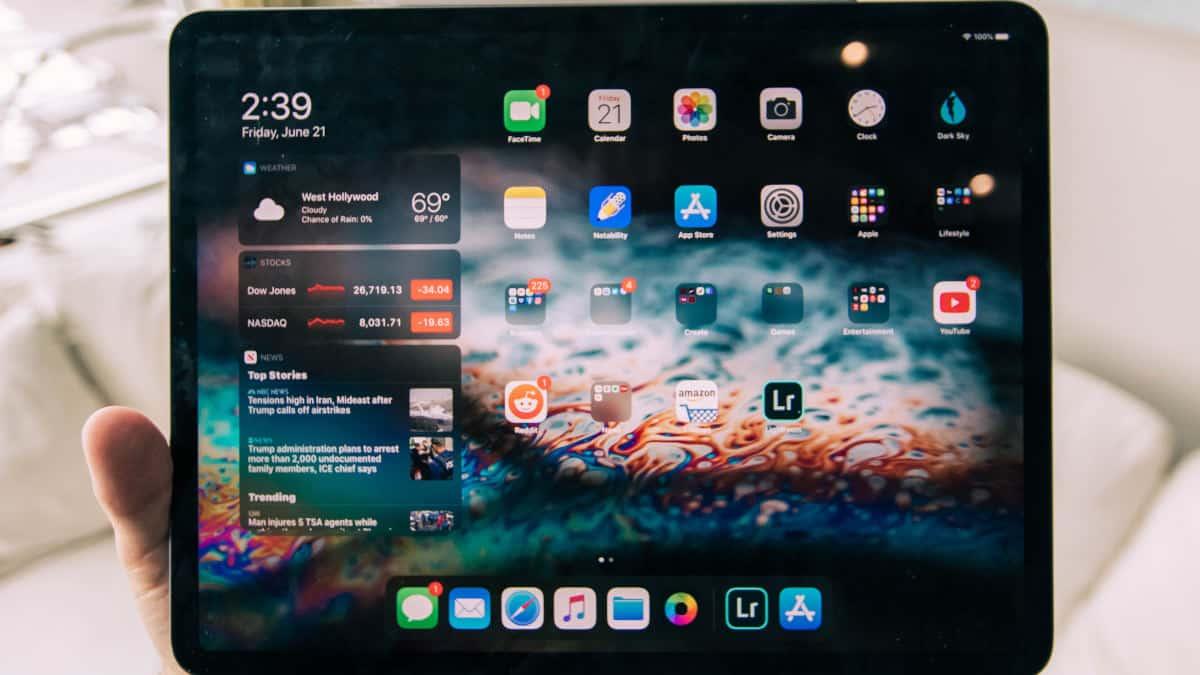 miglior tablet economico esempio sistema iOS