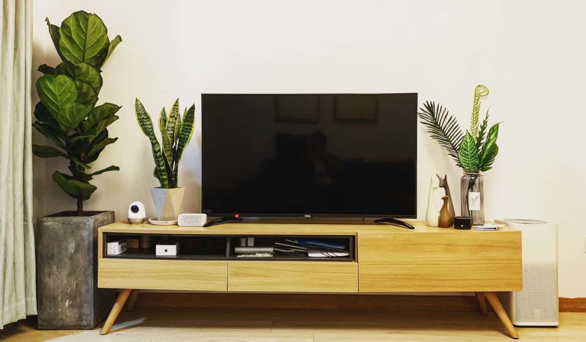 quale smart TV comprare esempio salotto e spazio
