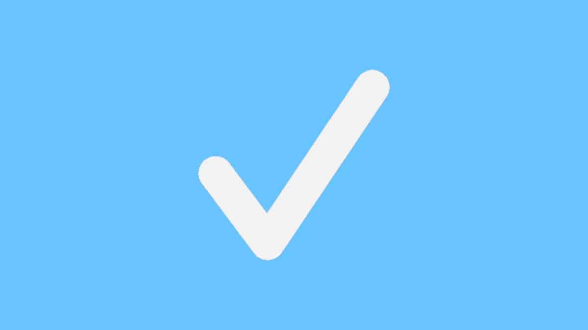 come avere il verificato su TikTok concetto di account verificato