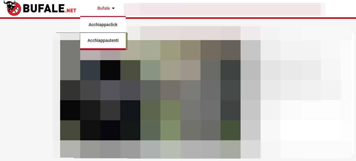 come riconoscere una fake news servizio Bufale.net