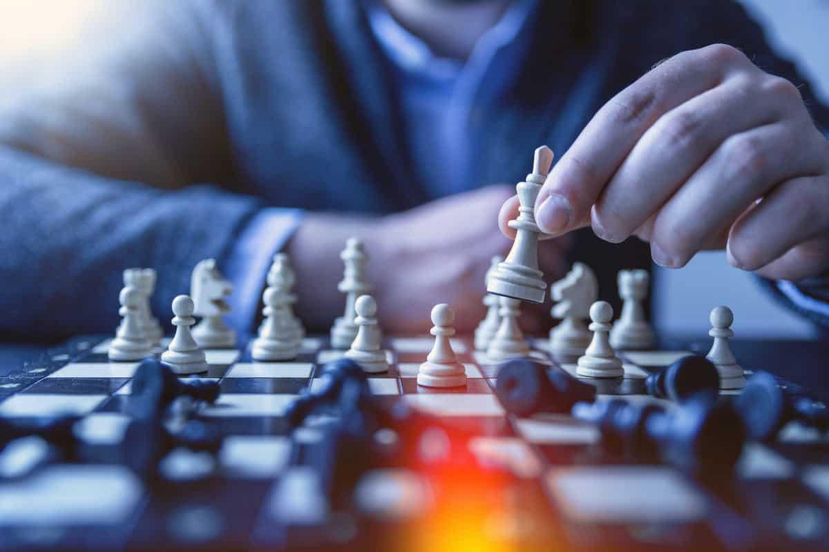 come diventare ricchi onestamente scacchi concetto strategia