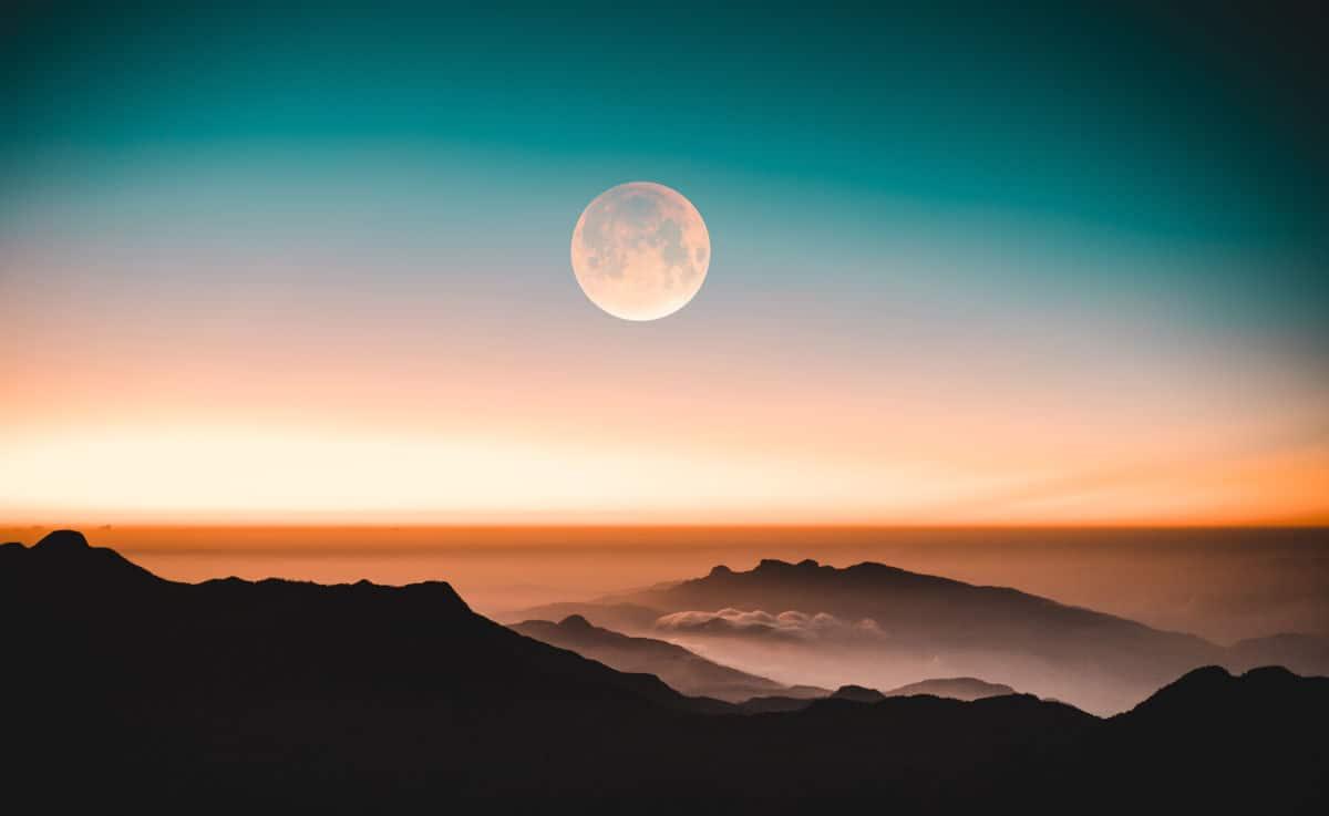 come fotografare la Luna combinazione effetti