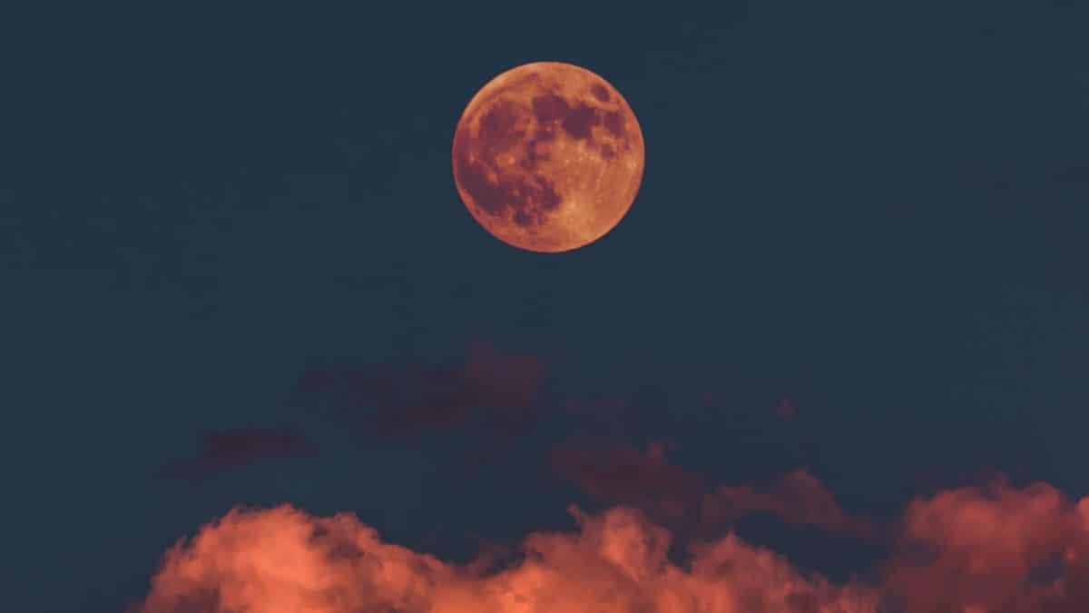 come fotografare la Luna rossa