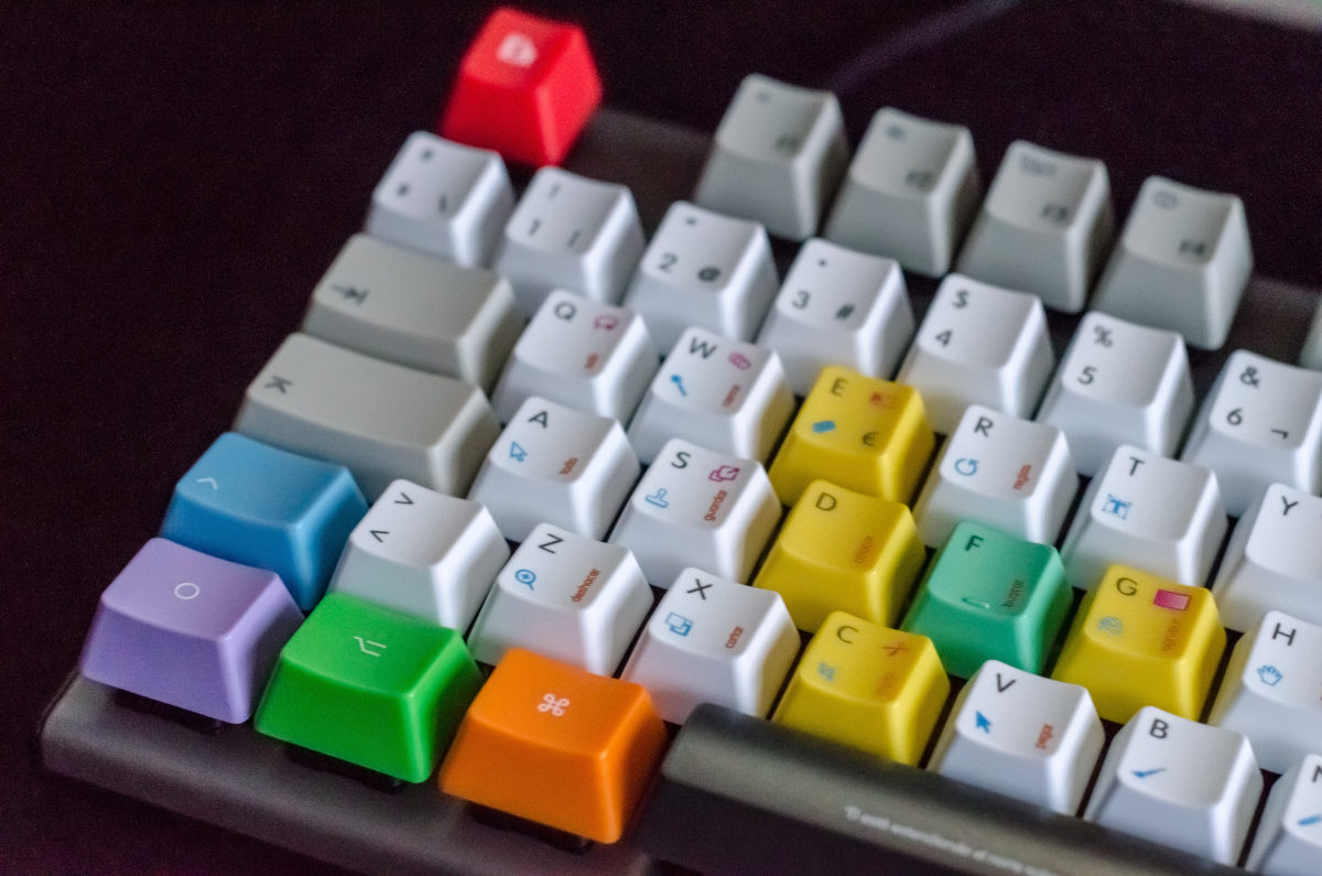 come scrivere senza guardare la tastiera del PC esempio QWERTY