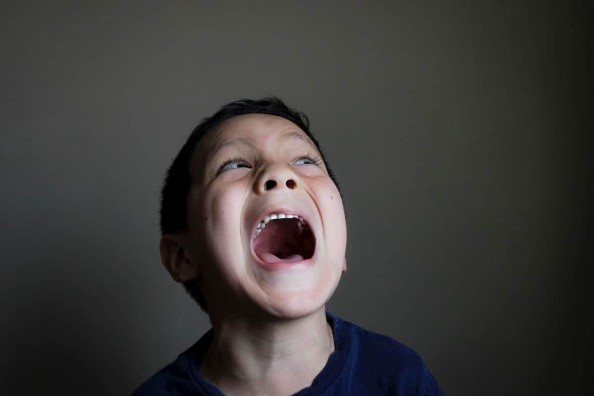 come superare le paure bambino spaventato
