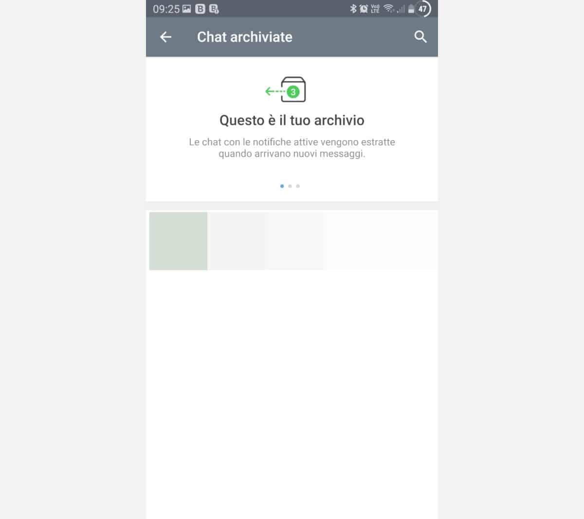 cercare su Telegram archivio chat