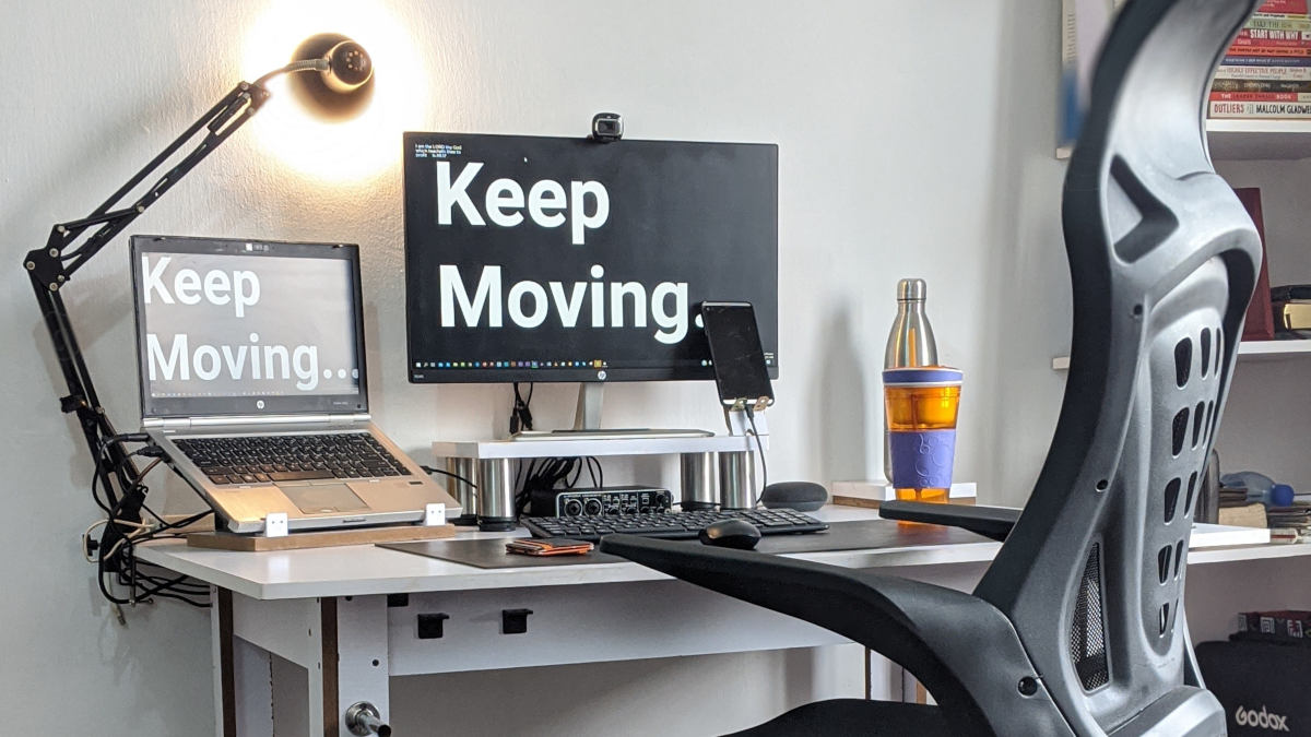 postazione ergonomica per lavorare al PC