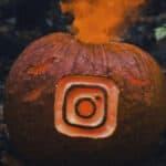 cambiare icona di Instagram esempio astratto Halloween
