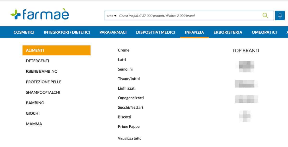 farmaci online esempio Farmaè