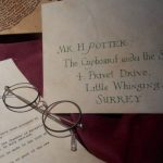 lettera telegramma Harry Potter Hogwarts