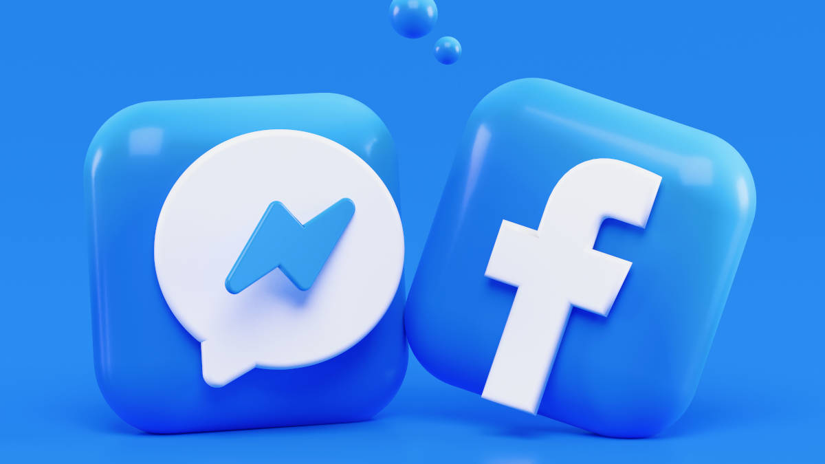 suoni Facebook icone Messenger e Facebook