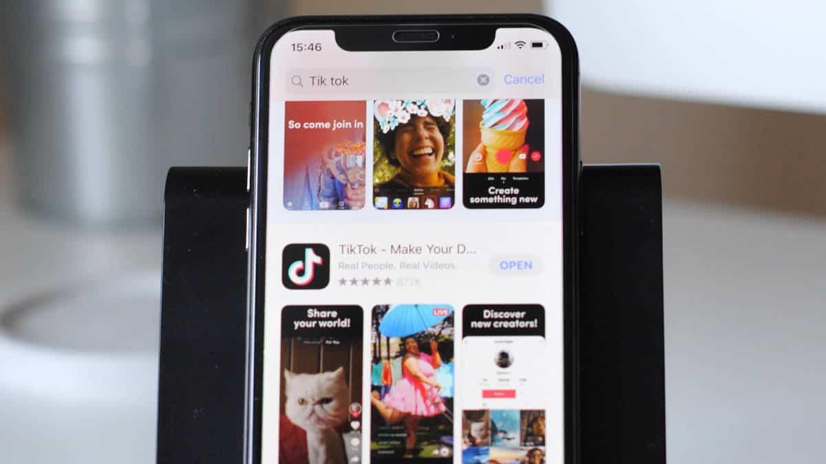 vedere live TikTok schermate app TikTok divertimento