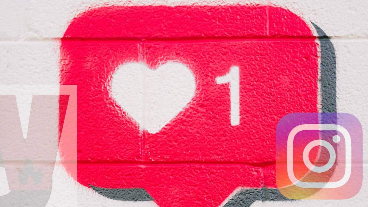 badge Instagram cuore