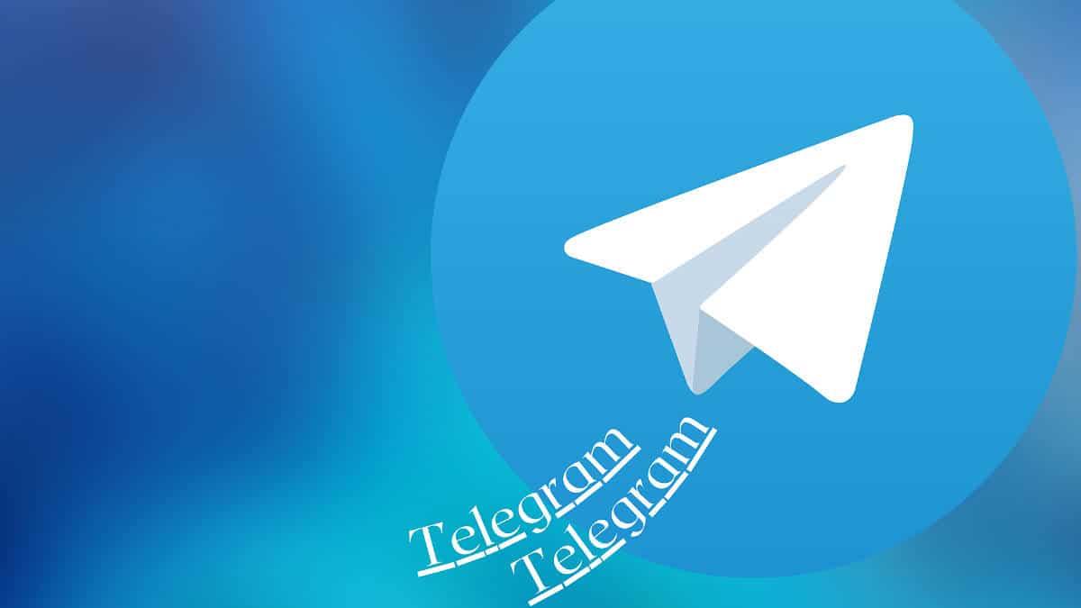 icona app Telegram su sfondo celeste problemi contatti Telegram